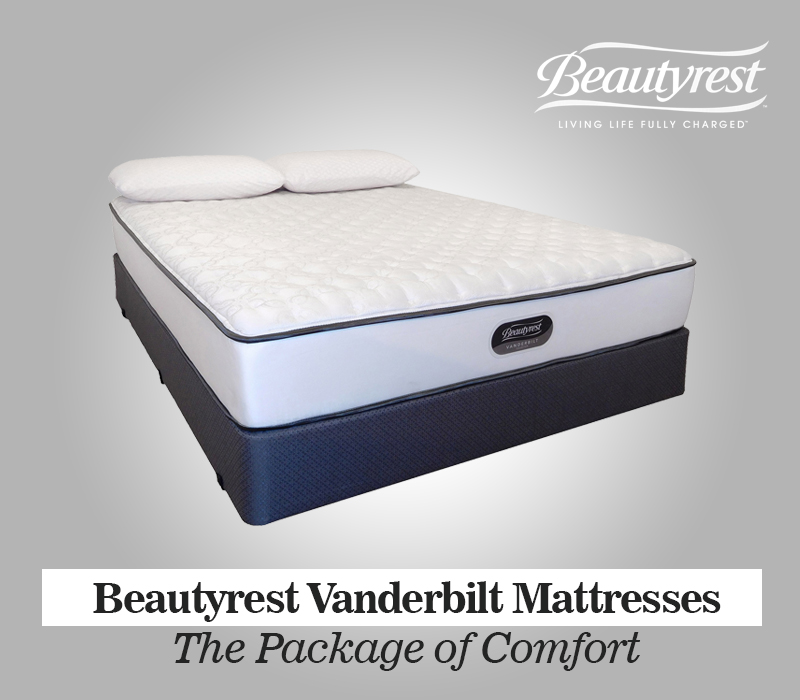 Beautyrest Vanderbilt Mattresses Collection