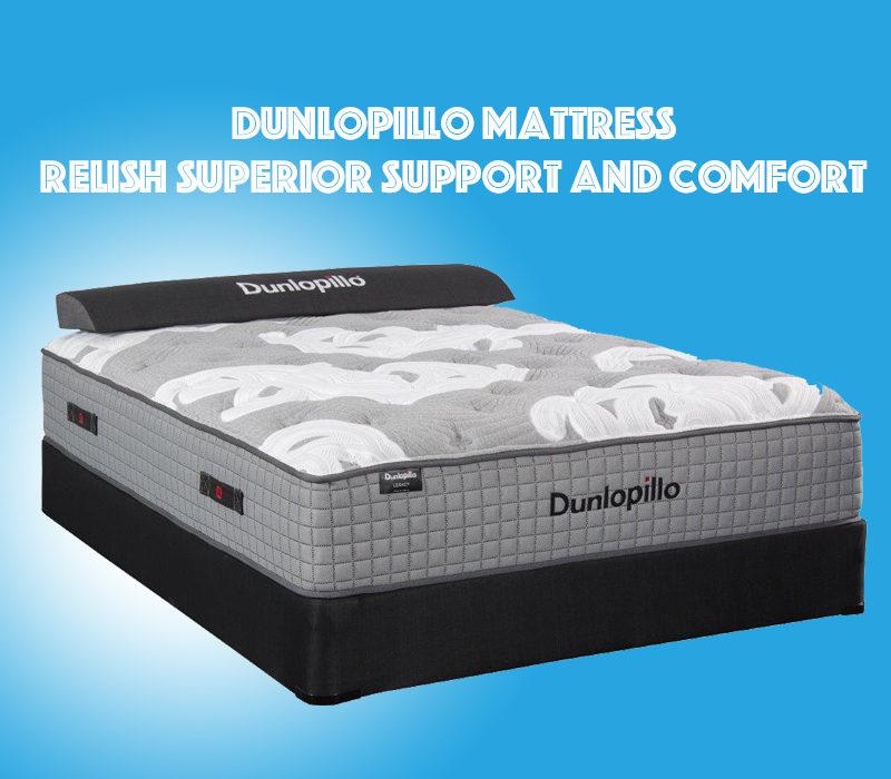 Dunlopillo Mattress blog