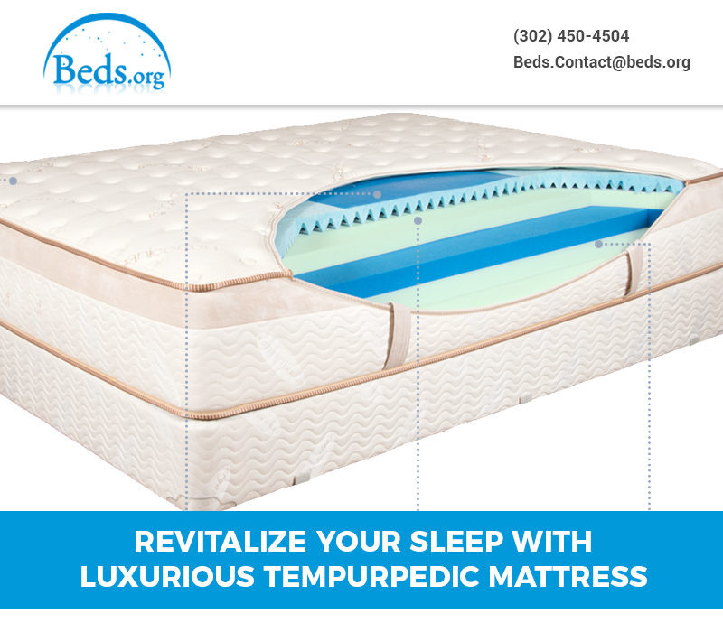 Revitalize your sleep with Luxurious Tempurpedic Mattress