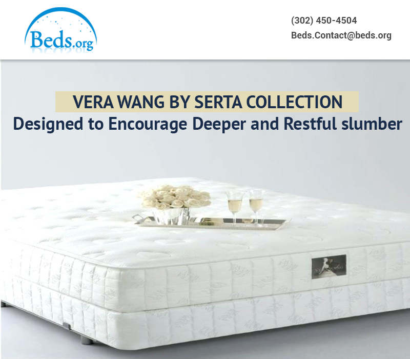 Vera Wang by Serta Collection Designed to Encourage Deeper and Restful slumber